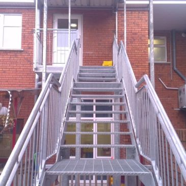 Stairs & Access Gantry's